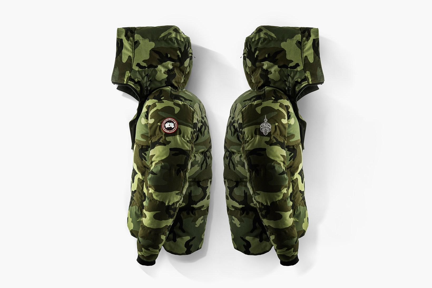 canada goose army coat
